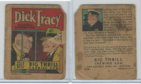 R24 Goudey, Big Thrill Booklets, 1934, Dick Tracy, #2 Valuable Information