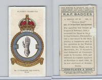 P72-172b Player, RAF Badges (Motto), 1937, #11 17th Fighter Squadron RAF