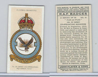 P72-172b Player, RAF Badges (Motto), 1937, #14 20th Army Squadron RAF