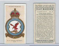 P72-172b Player, RAF Badges (Motto), 1937, #16 23rd Fighter Squadron RAF
