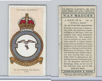 P72-172b Player, RAF Badges (Motto), 1937, #18 23rd Fighter Squadron RAF