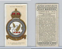 P72-172b Player, RAF Badges (Motto), 1937, #21 28th Army Squadron RAF