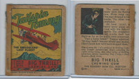 R24 Goudey, Big Thrill Booklets, 1934, Tallspin Tommy, #1 Smuggler's