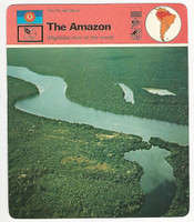 1978 Edito Service, World Cards, #07.18 The Amazon River