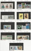 Cameroon, Postage Stamp, #509//540 Mint NH & LH, 1970-72, JFZ