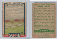 R26 Goudey, Boy Scouts, 1933, #13 Sheep Clouds