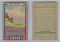 R26 Goudey, Boy Scouts, 1933, #17 Below the Earth's Surface