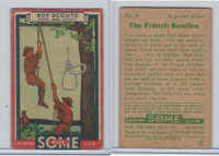 R26 Goudey, Boy Scouts, 1933, #27 The French Bowline