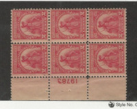 United States, Postage Stamp, #657 Mint (1 stamp hinged, others NH), JFZ