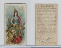 N80 Duke, Holidays, 1890, Emperor's Birthday - Germany (B)