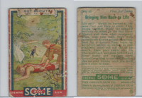 R26 Goudey, Boy Scouts, 1933, #43 Bringing Him Back to Life