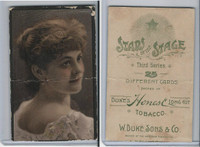 N131 Duke, Stars of The Stage, 3rd Series, 1890, Actresses (17)