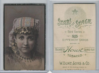 N131 Duke, Stars of The Stage, 3rd Series, 1890, Actresses (19)