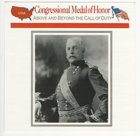 1995 Atlas, Civil War Cards, #44.12A Medal of Honor, General Miles