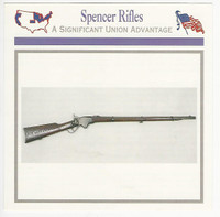 1995 Atlas, Civil War Cards, #44.17 Spencer Rifles