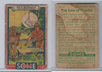 R26 Goudey, Boy Scouts, 1933, #47 The Law of Gravity