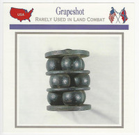 1995 Atlas, Civil War Cards, #46.16 Grapeshot