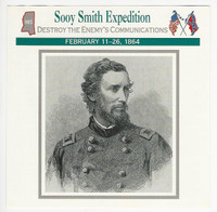 1995 Atlas, Civil War Cards, #47.09 Sooy Smith Expedition, Mississippi