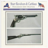 1995 Atlas, Civil War Cards, #47.18 Starr Revolvers & Carbines