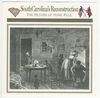 1995 Atlas, Civil War Cards, #49.20 South Carolina's Reconstruction
