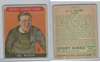 R338 Goudey, Sport Kings Gum, 1933, #9 E.J. Blood, Skiing