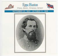 1995 Atlas, Civil War Cards, #55.14 Colonel Eppa Hunton