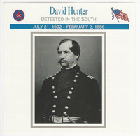 1995 Atlas, Civil War Cards, #55.15 General David Hunter