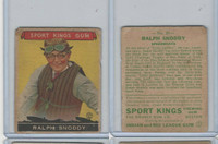 R338 Goudey, Sport Kings Gum, 1933, #25 Ralph Snoddy, Speedboating