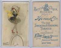 N100 Duke, Bicycle & Trick Riders, 1890, Standing On Saddle