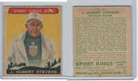 R338 Goudey, Sport Kings Gum, 1933, #47 J. Hubert Stevens, Bob-Sled Racing