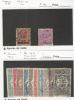 French Morocco, Postage Stamp, #J32-J34, Q1-Q11 Mint & Used, 1917-26, JFZ