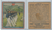 R50 Goudey, First Column Defenders, 1940, #12 Future Admirals On Parade