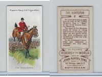 P72-48 Players, Riders of the World, 1905, #2 Huntsman, Horse