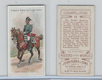 P72-48 Players, Riders of the World, 1905, #12 Gendarme A Cheval, Horse