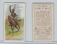 P72-48 Players, Riders of the World, 1905, #15 Basuto, Horse