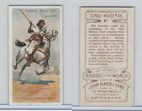 P72-48 Players, Riders of the World, 1905, #21 Somali Horseman, Horse