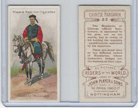 P72-48 Players, Riders of the World, 1905, #22 Chinese Mandarin, Horse