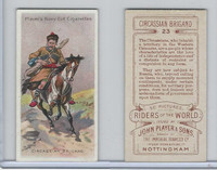 P72-48 Players, Riders of the World, 1905, #23 Circassian Brigand, Horse