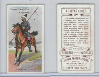 P72-48 Players, Riders of the World, 1905, #24 Tartar Chief, Horse