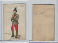 E7 Caramel, Soldier Cards, 1910, #17 German Captain