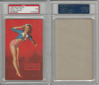 W424-2b Mutoscope, Artist Pin-Up Girls, 1945, Don't Try Any Pincer, PSA 7 NM