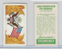 D0-0 Domino, Products of the World, Flags, 1961, #1 United States