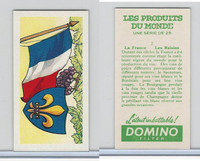 D0-0 Domino, Products of the World, Flags, 1961, #2 France