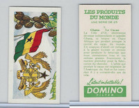D0-0 Domino, Products of the World, Flags, 1961, #9 Ghana