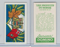 D0-0 Domino, Products of the World, Flags, 1961, #10 Canada