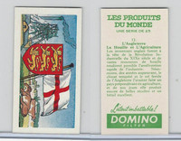 D0-0 Domino, Products of the World, Flags, 1961, #12 Angleterre