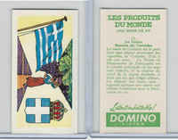 D0-0 Domino, Products of the World, Flags, 1961, #13 Greece