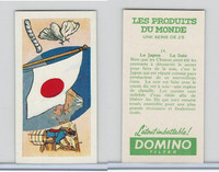 D0-0 Domino, Products of the World, Flags, 1961, #14 Japan