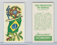 D0-0 Domino, Products of the World, Flags, 1961, #15 Brazil