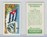 D0-0 Domino, Products of the World, Flags, 1961, #17 Cuba